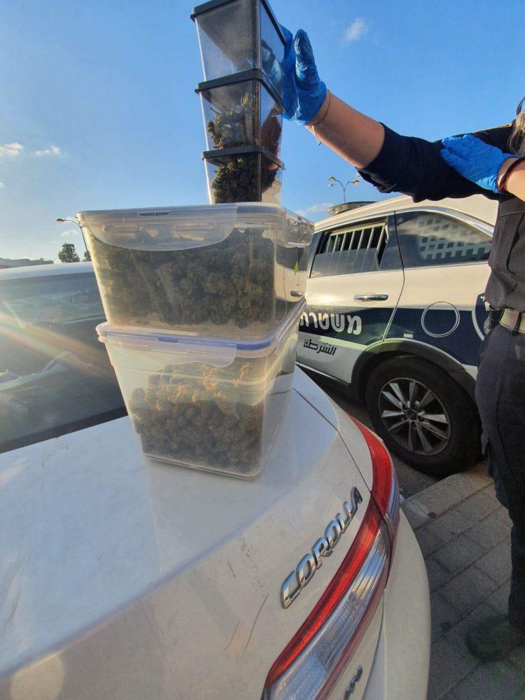 סמים (צילום: משטרת ישראל)