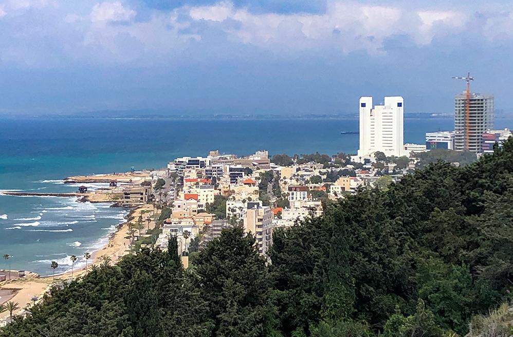 שכונת בת גלים בחיפה (צילום: ירון כרמי)