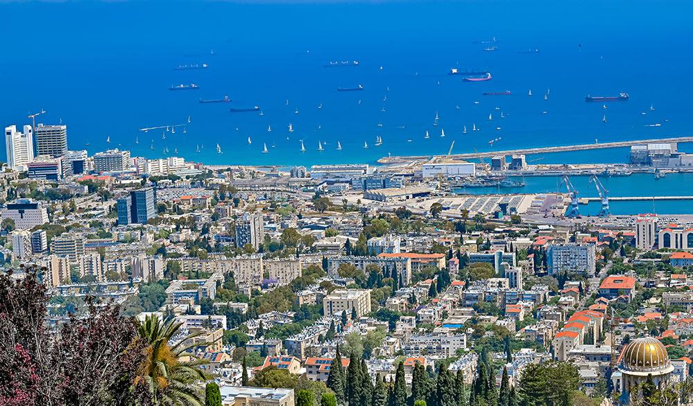 משט ההצדעה בחיפה לצוותים הרפואיים (צילום: שי אלון)