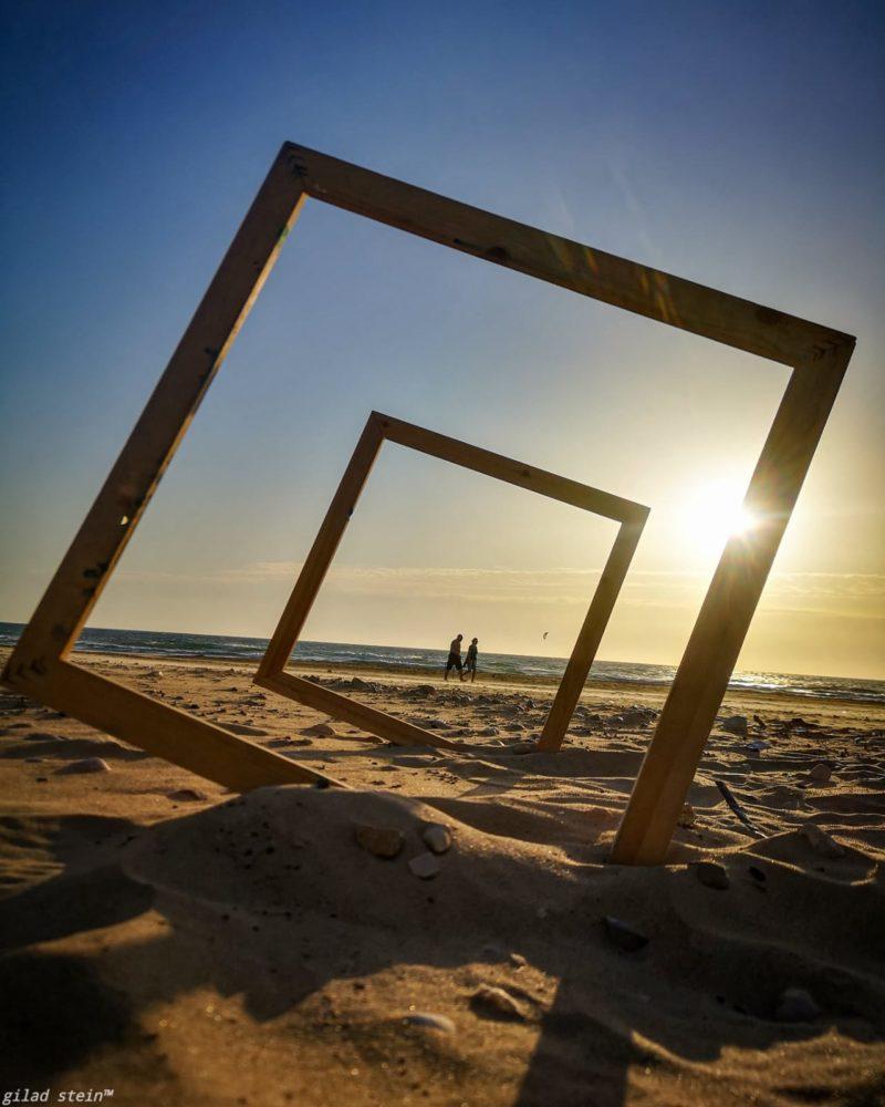 חוף הים (צילום: גלעד שטיין)