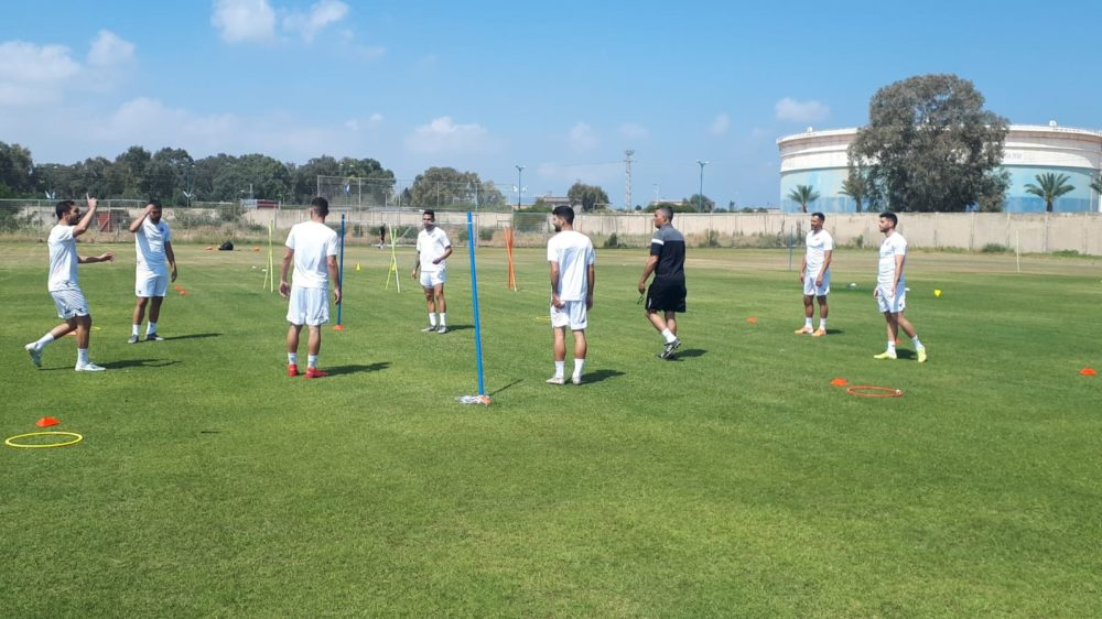 הספורט בחיפה מתחיל לחזור לשגרה (צילום:  דוברות הפועל חיפה)