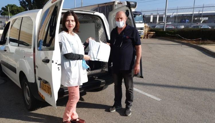 שירות תרופות עד הבית על ידי שליח – לריסה פבלצוב סגנית רוקחת במחוז חיפה וגליל מערבי