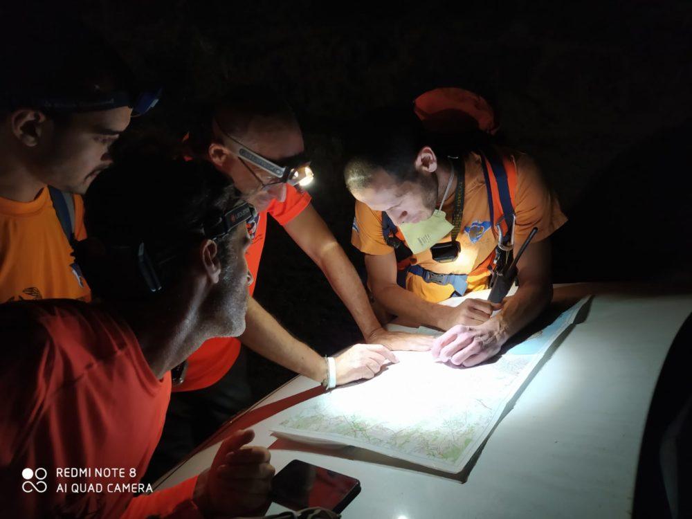 מבצע חיפוש אחר נעדרים (צילום: משטרת ישראל)