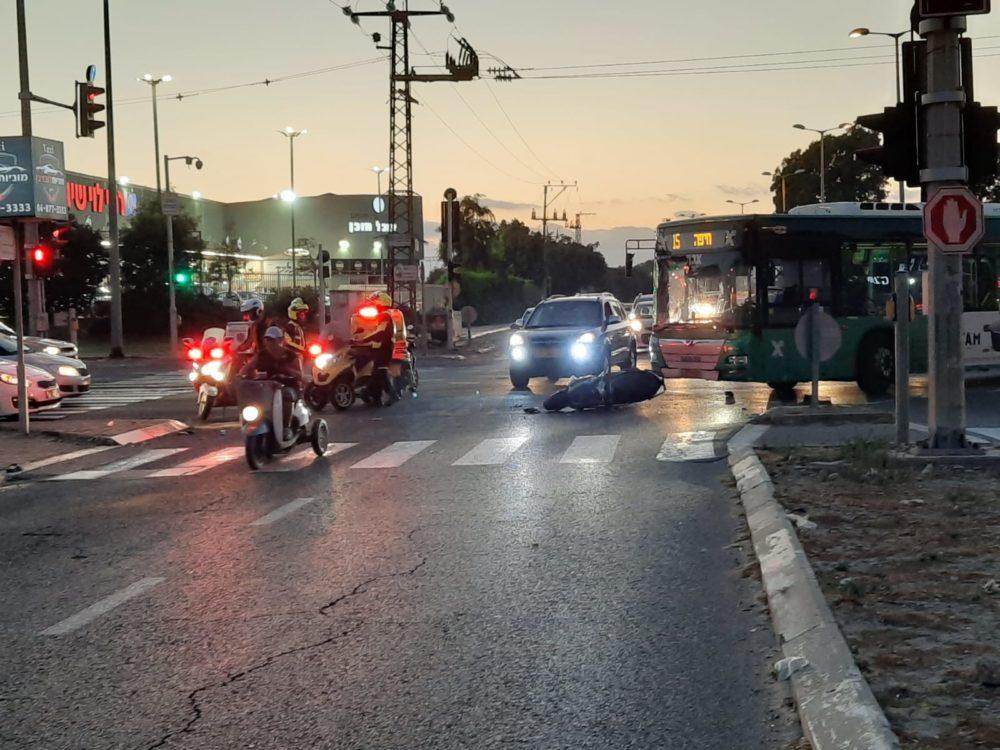 תאונת דרכים (צילום: איחוד הצלה)