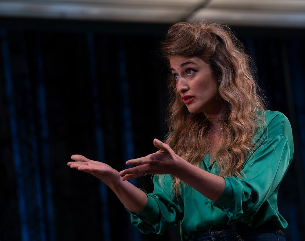ההצגה - הנשים של ג'ייק - תאטרון חיפה (צילום: ירון כרמי)
