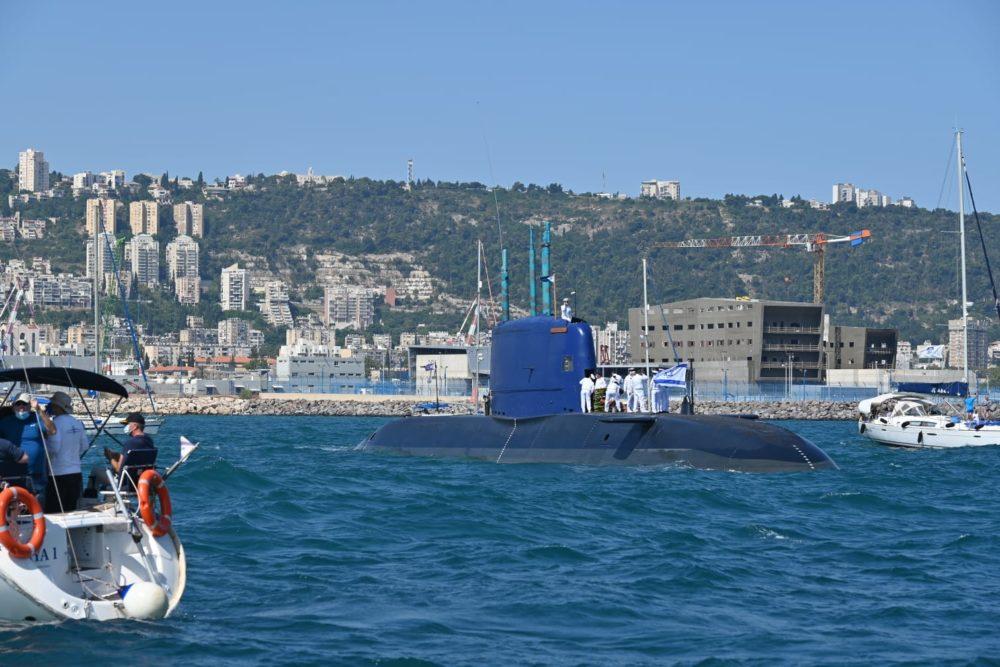 """המשט השנתי לזכר לוחמי הצוללת אח""""י דקר (צילום: שי אלון)"""