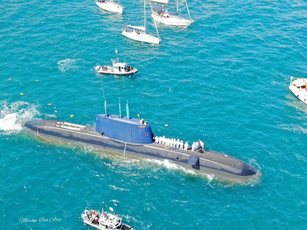"""המשט השנתי לזכר לוחמי הצוללת אח""""י דקר (צילום: מרום בן-אריה)"""