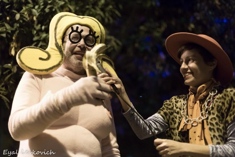 שושקה זוכה בבננת הזהב בפסטיבל השרוטים (צילום: אייל לבקוביץ')
