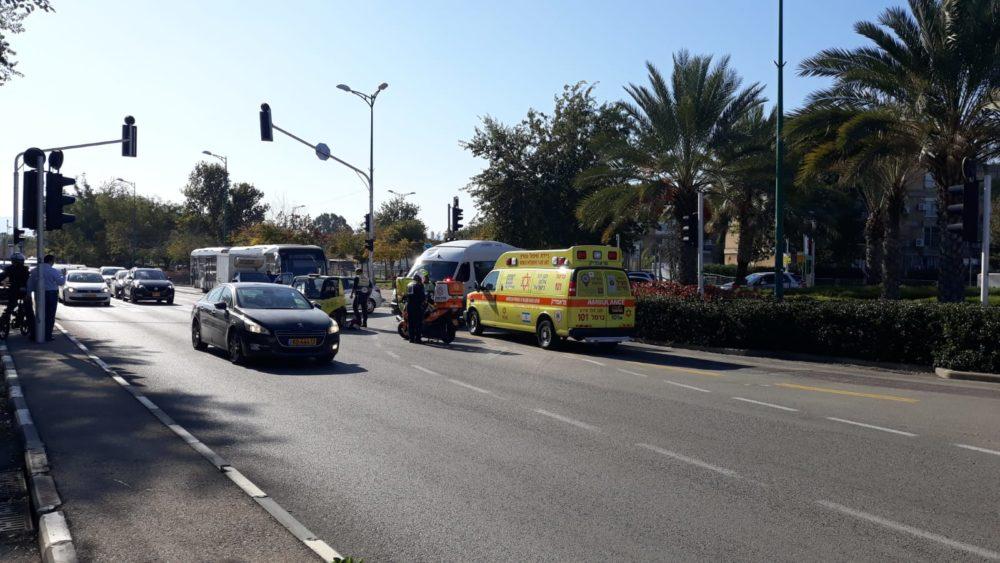 תאונת דרכים (צילום חי פה)