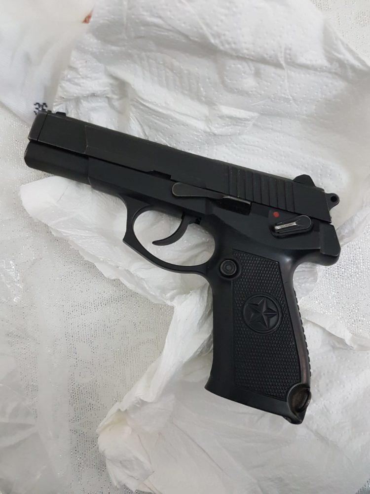 נשק (צילום: משטרת ישראל)