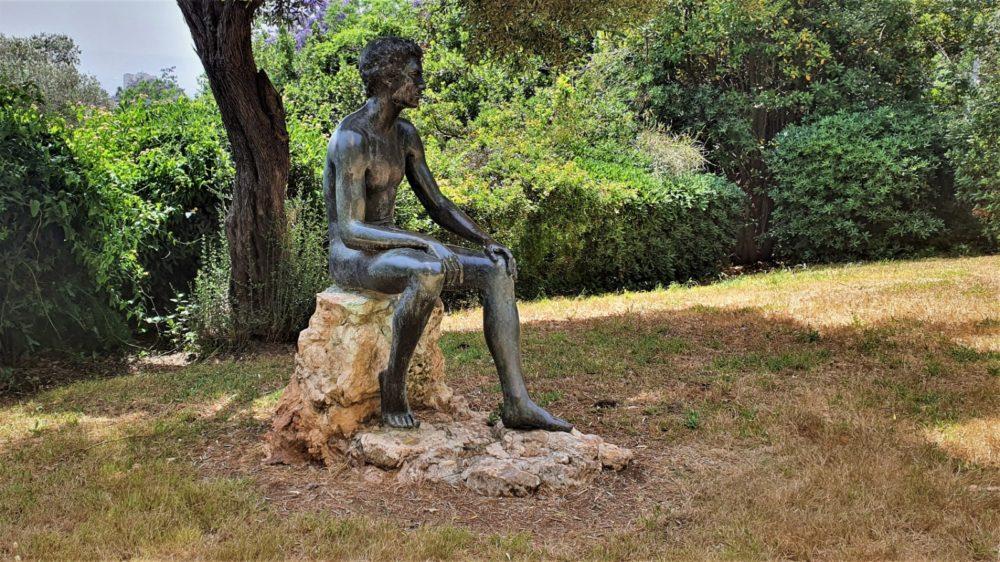 גן הפסלים בחיפה (צילום: נילי נבו)