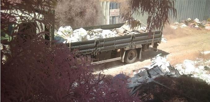 פסולת מושלכת לא כחוק (איגוד ערים חיפה)