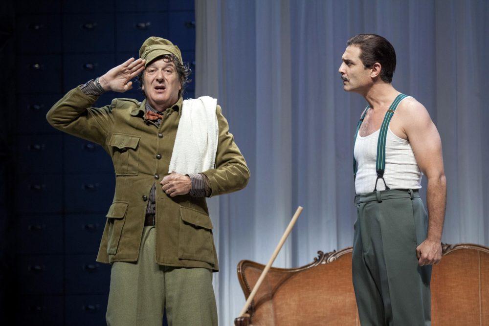 החייל האמיץ שוויק, שידור אחרון (צילום: תאטרון חיפה)