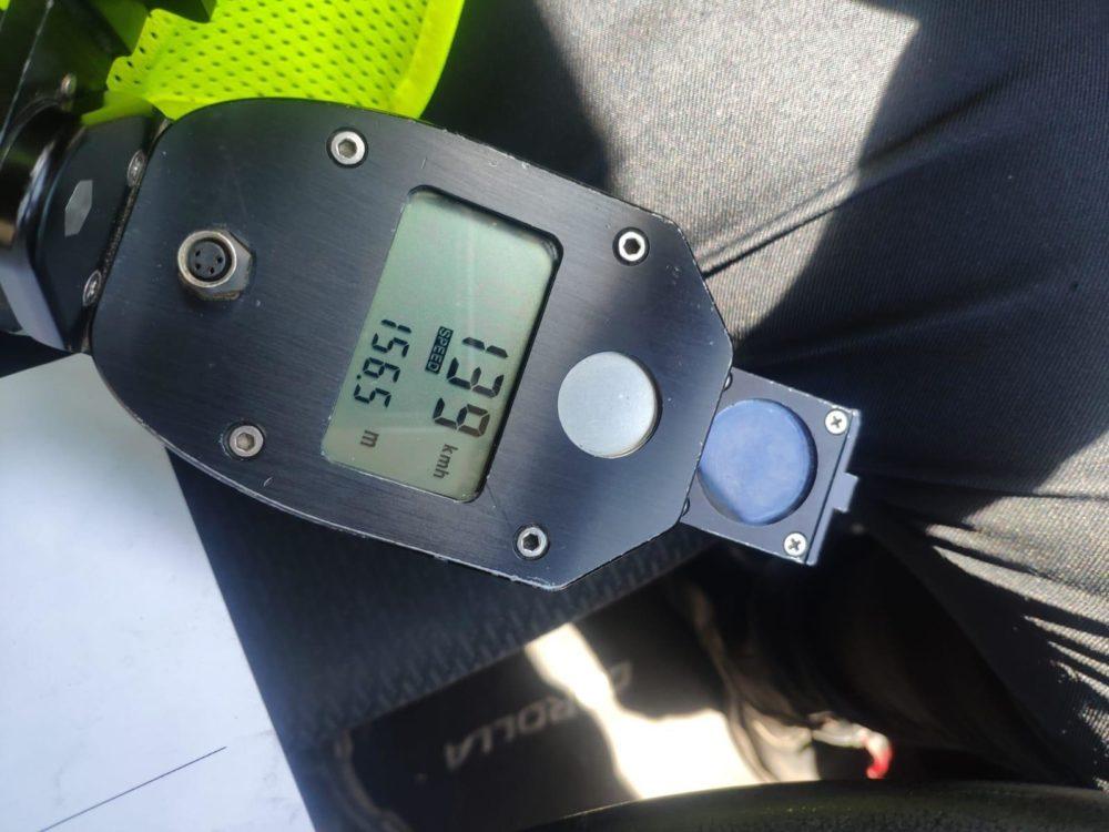 מד מהירות (צילום: משטרת ישראל)