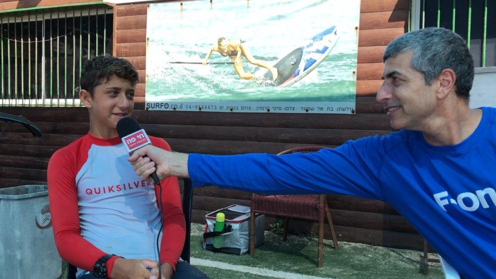 ירון כרמי ועידו ברזילי - מחנה אימונים בקריית ים - הסבת שייטים לקייט פויל לקראת אולימפיאדת פריז 2020 (צילום: ירון כרמי)