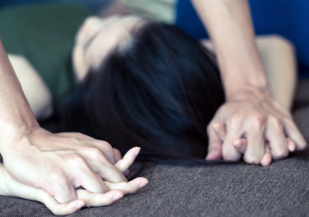 אונס - תקיפת אישה - אילוסטרציה (shutterstock)