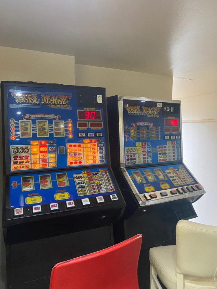 מכונות הימורים (צילום: משטרת ישראל)