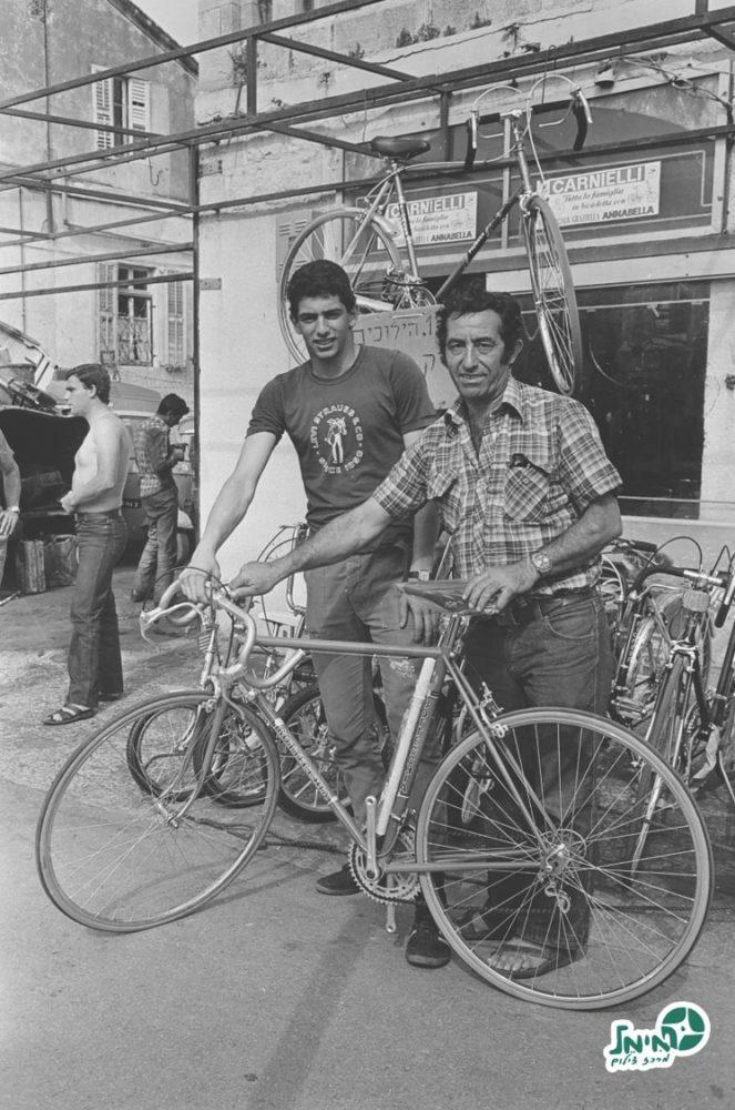 אבי ומשה רן (צילום: ארכיון מימל, האתר הרשמי של מכבי חיפה)