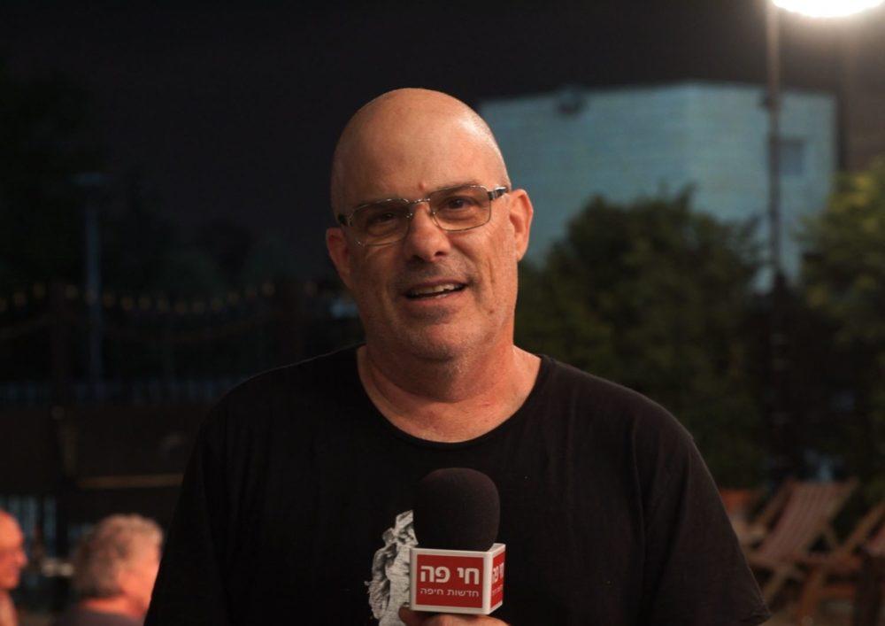 דן תורן בתאטרון חיפה - הופעות תחת כיפת השמים בעידן הקורונה (צילום: ירון כרמי)