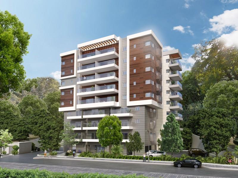 דירות חדשות למכירה בפרויקט של חברת שתית ברחוב זלמן שניאור 23-25 – חיפה