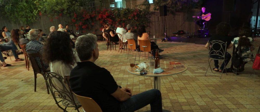תאטרון חיפה - הופעות תחת כיפת השמים בעידן הקורונה (צילום: ירון כרמי)