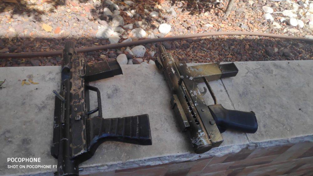 נשק קרלו (צילום: דוברות המשטרה)