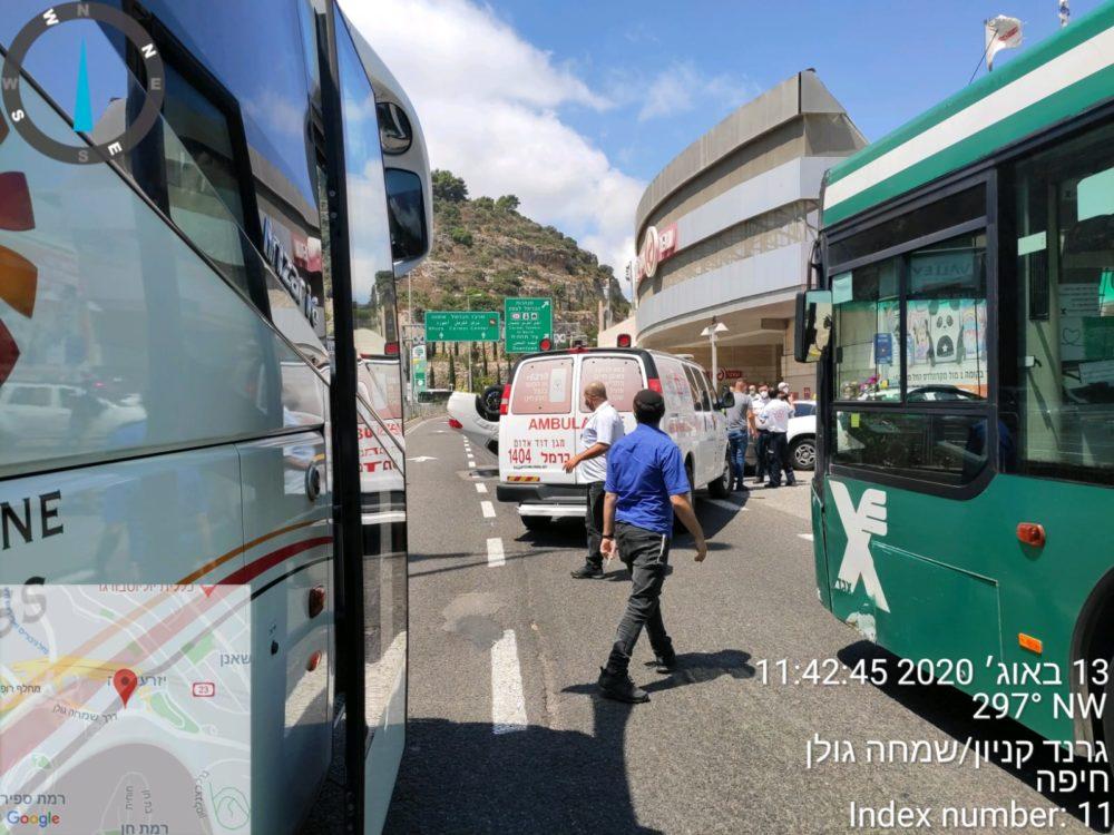 תאונה דרכים (צילום: הדר)