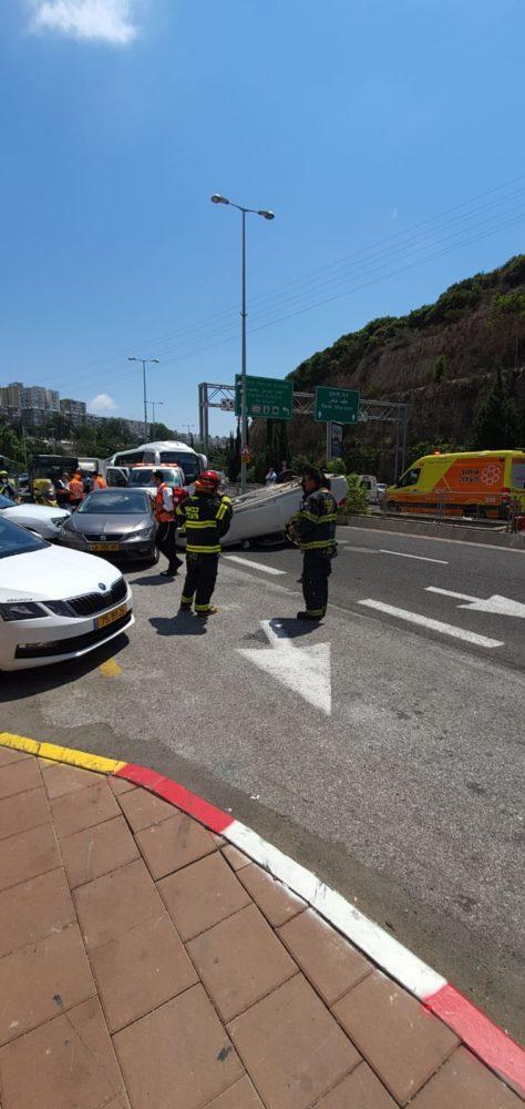 תאונת דרכים (צילום: ליאב מנחם)