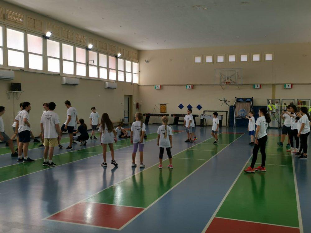 מחנה אימונים לסייפי חיפה (צילום: מועדון הסיוף העירוני)