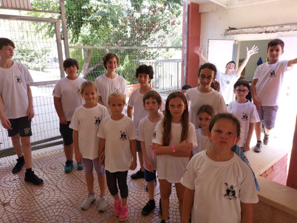 מחנה אימונים לסייפי חיפה (צילום: מועדון הסיוף חיפה)