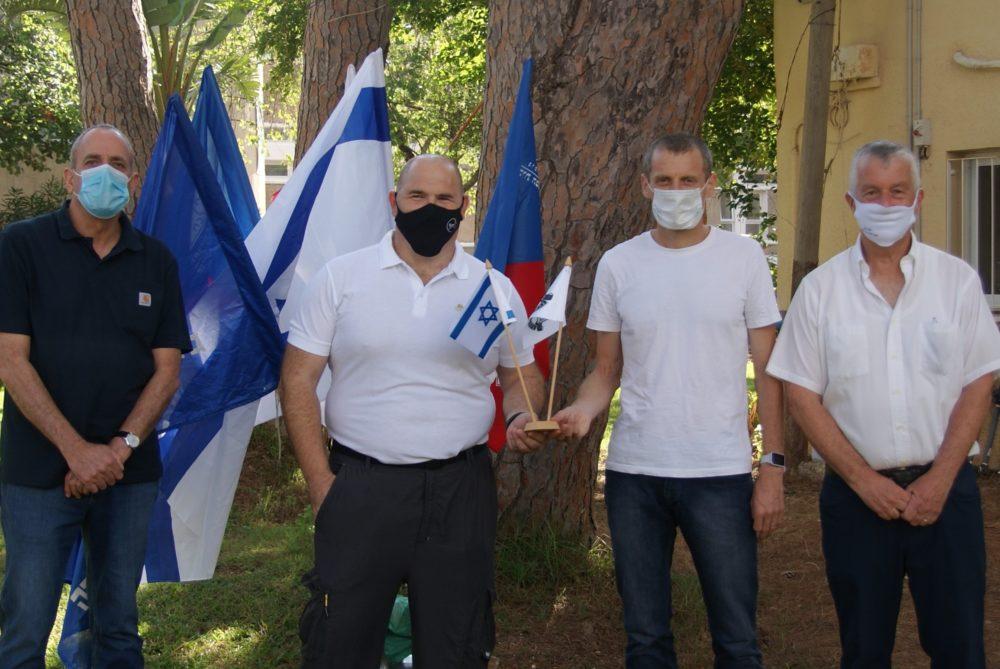 מימין יוסי בן- דב, ידידיה חזני, ערן מקוב ומשה צין (צילום: דימה יורין)