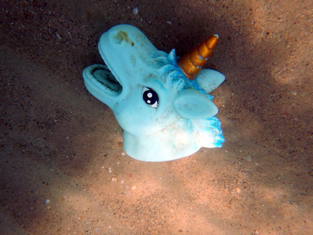חלקי צעצועי פלסטיק שהגיעו בעקבות הפיצוץ (צילום: מוטי מנדלסון)