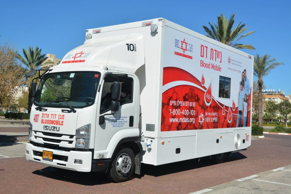 רכב תרומת דם