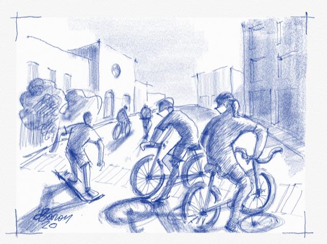 יום כיפור בצל הקורונה | איור: דוד בר-און