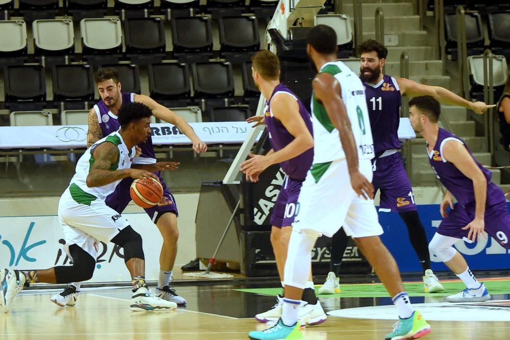 הירוקים בכדורסל (צילום: יוסף הירש)