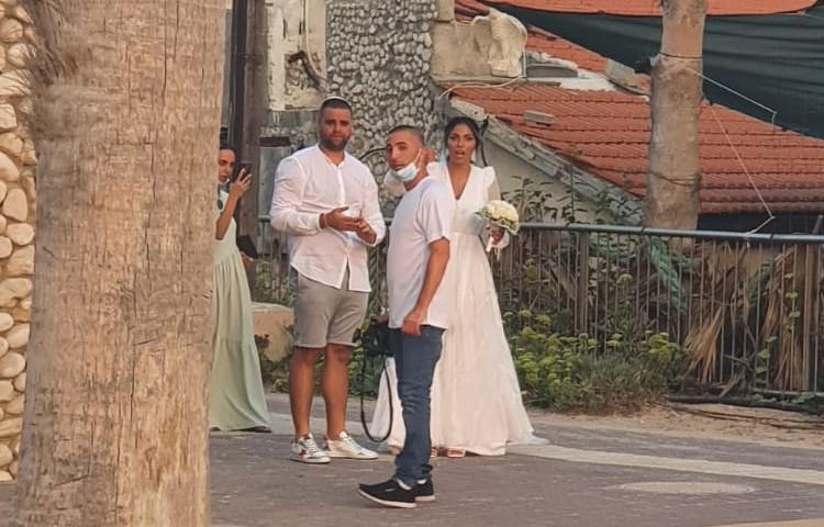 חתונה חיפאית בצל הקורונה (חי פה בשטח)
