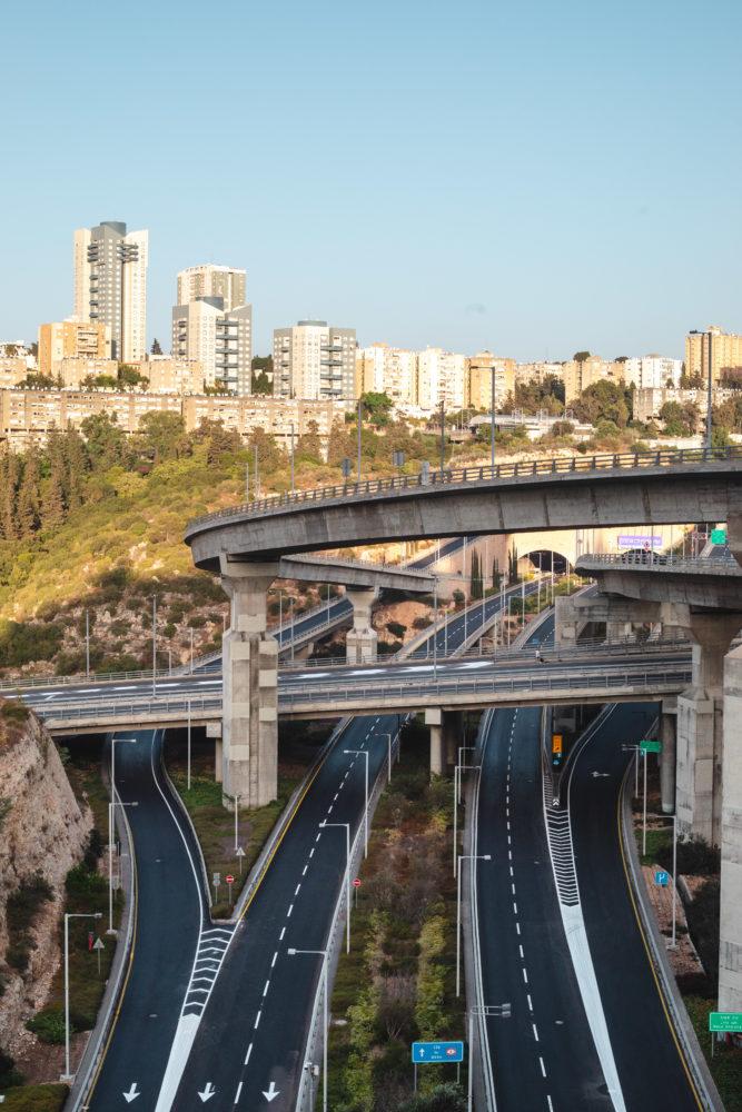 יום כיפור 2020 | כבישים ריקים (צילום: עדי שילר)