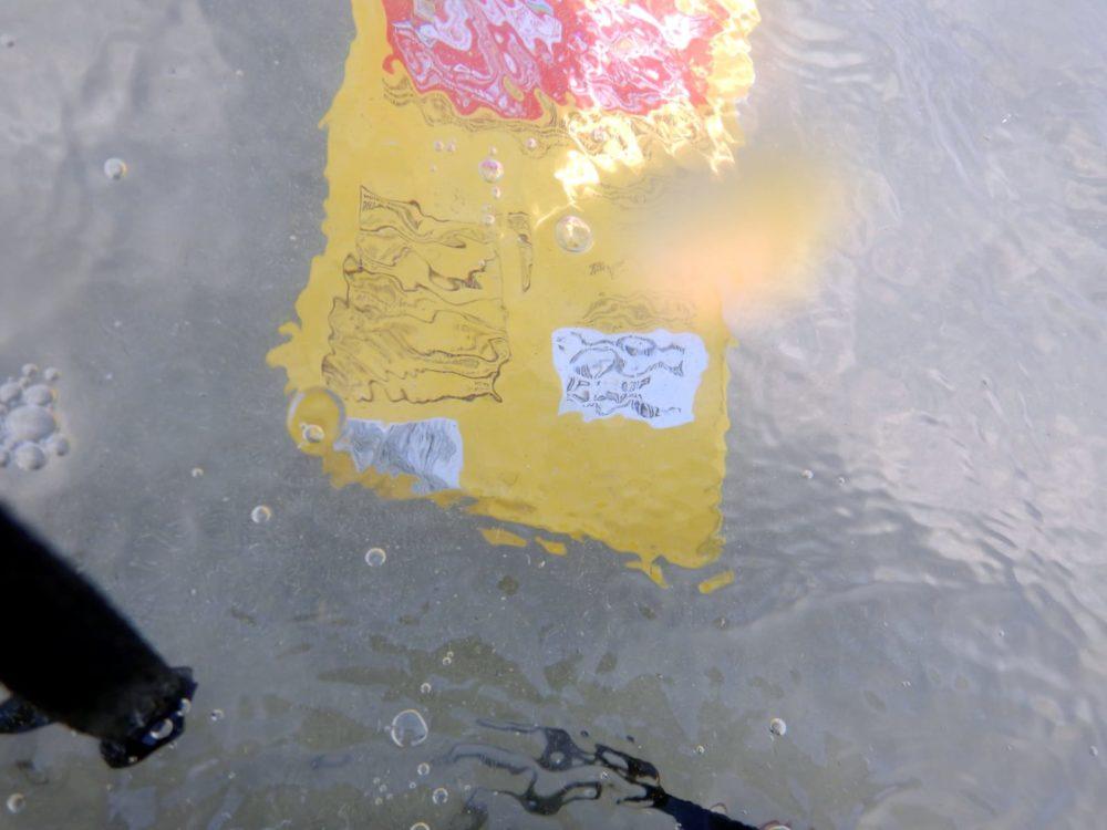 שקית חטיף שהגיעה מלבנון (צילום: מוטי מנדלסון)
