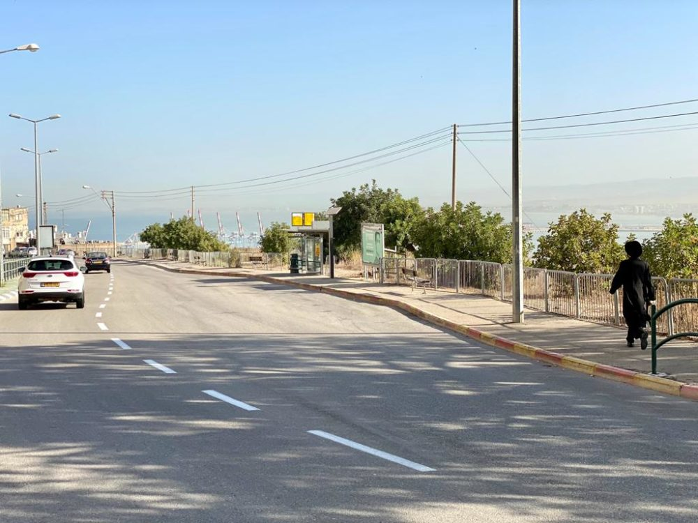 המיקום אליו יועבר מסוף האוטובוסים - [יעבור הרחבה] צילום: ראובן כהן