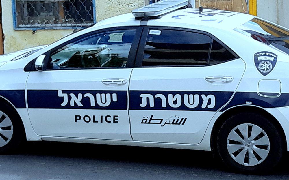 צילום ניידת משטרה: (צילום: אדיר יזירף)