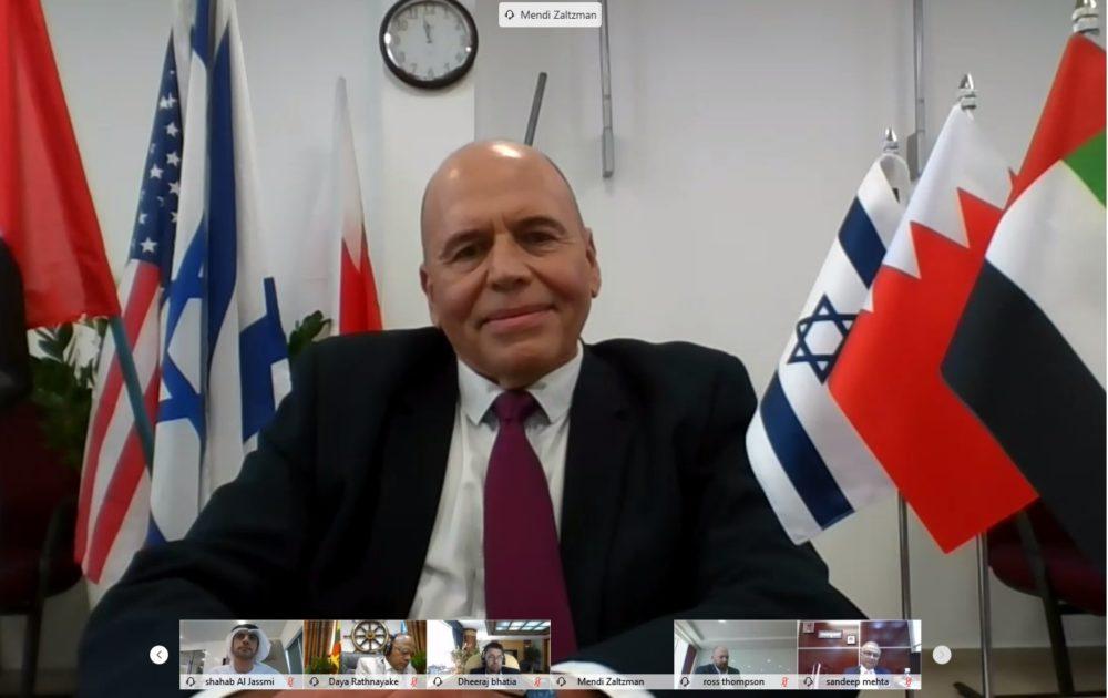 """מנדי זלצמן מנכ""""ל נמל חיפה"""