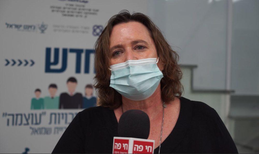 מאירה קיפרמן - מנהלת מחלקת הרווחה בעיריית חיפה (צילום: ירון כרמי)
