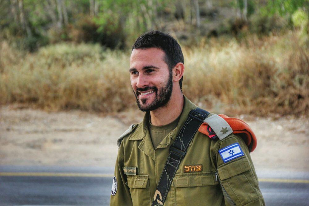 """רס""""ן ליאור בוקסבוים במהלך מבצע """"ההר הירוק תמיד"""" בחיפה (צילום: דובר צה""""ל)"""