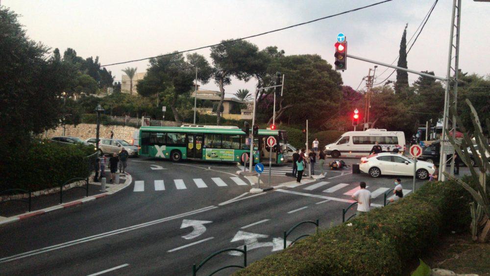 תאונת דרכים (צילום: משה יעקובי)