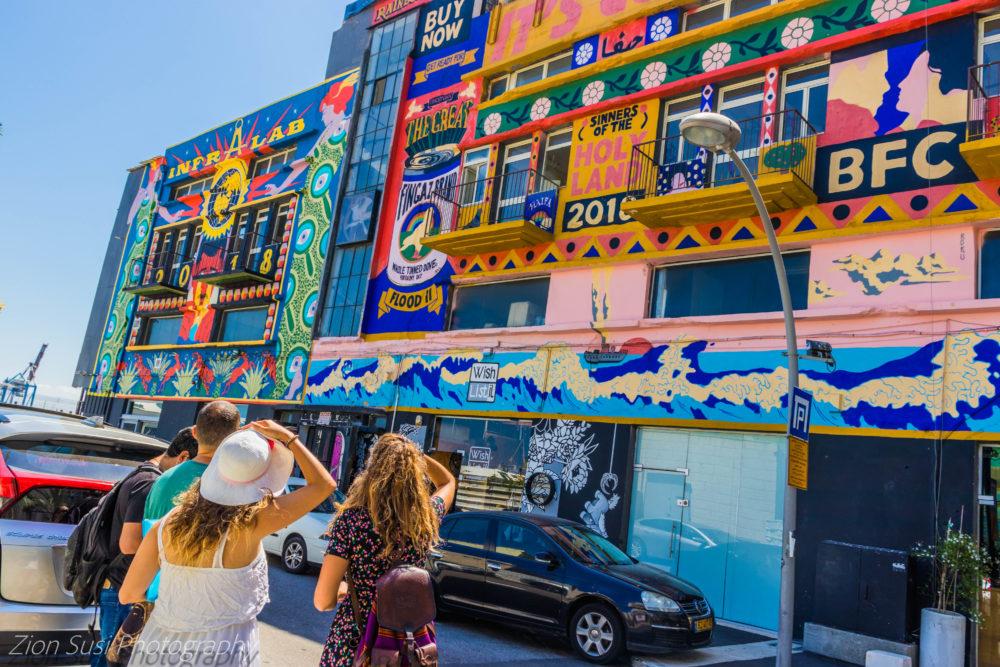 בעקבות קירות מדברים - טיול בחיפה (צילום: גרין ליידי)