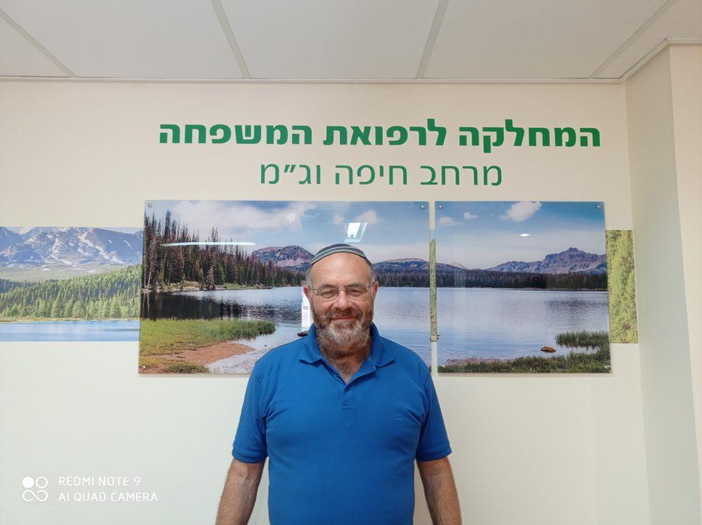 """ד""""ר מרדכי אלפרין (צילום: דוברות כללית)"""