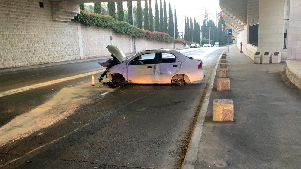 """תאונת דרכים (צילום: יחפ""""צ)"""