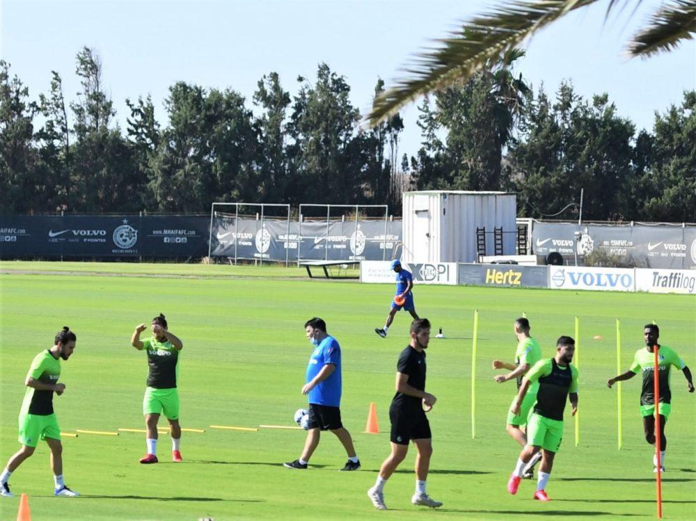 מכבי חיפה בכדורגל (צילום: דוברות מכבי חיפה)