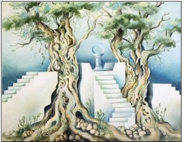 ציור של דן לבני