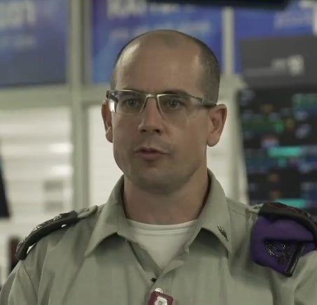 """מפקד רפואה בפיקוד צפון, אל""""ם ד""""ר ארז קרפ (צילום מסך: דובר צה""""ל)"""